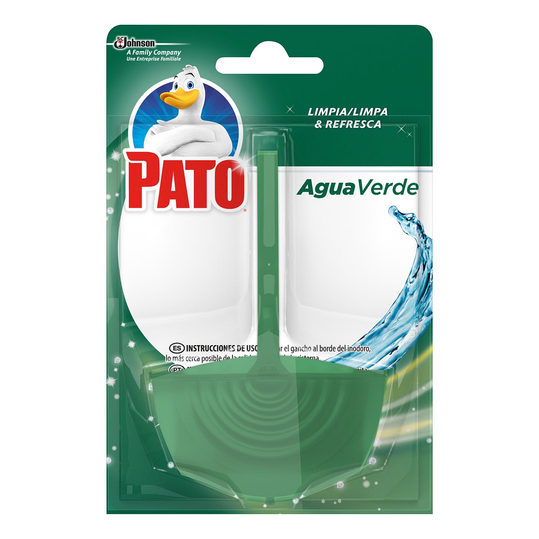 Colgador WC Agua verde 4 en 1 Pato 1 ud.