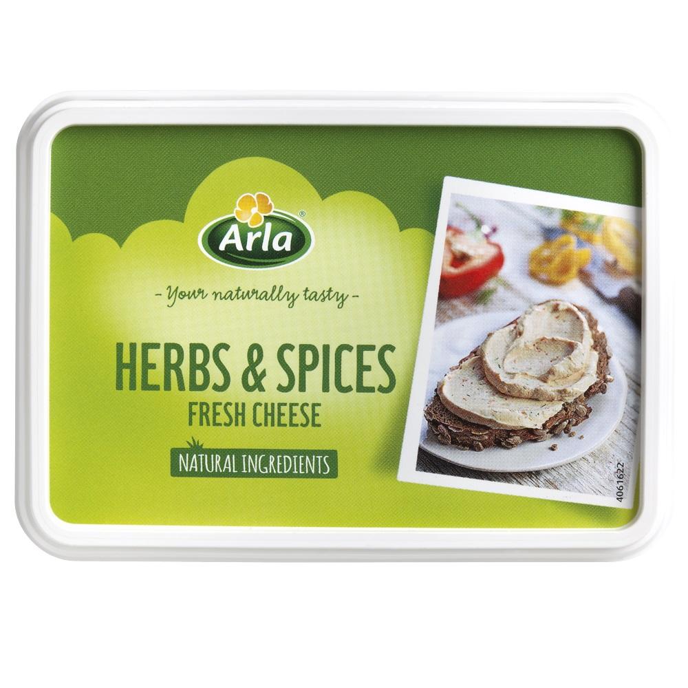 Crema de queso para untar finas hierbas -
