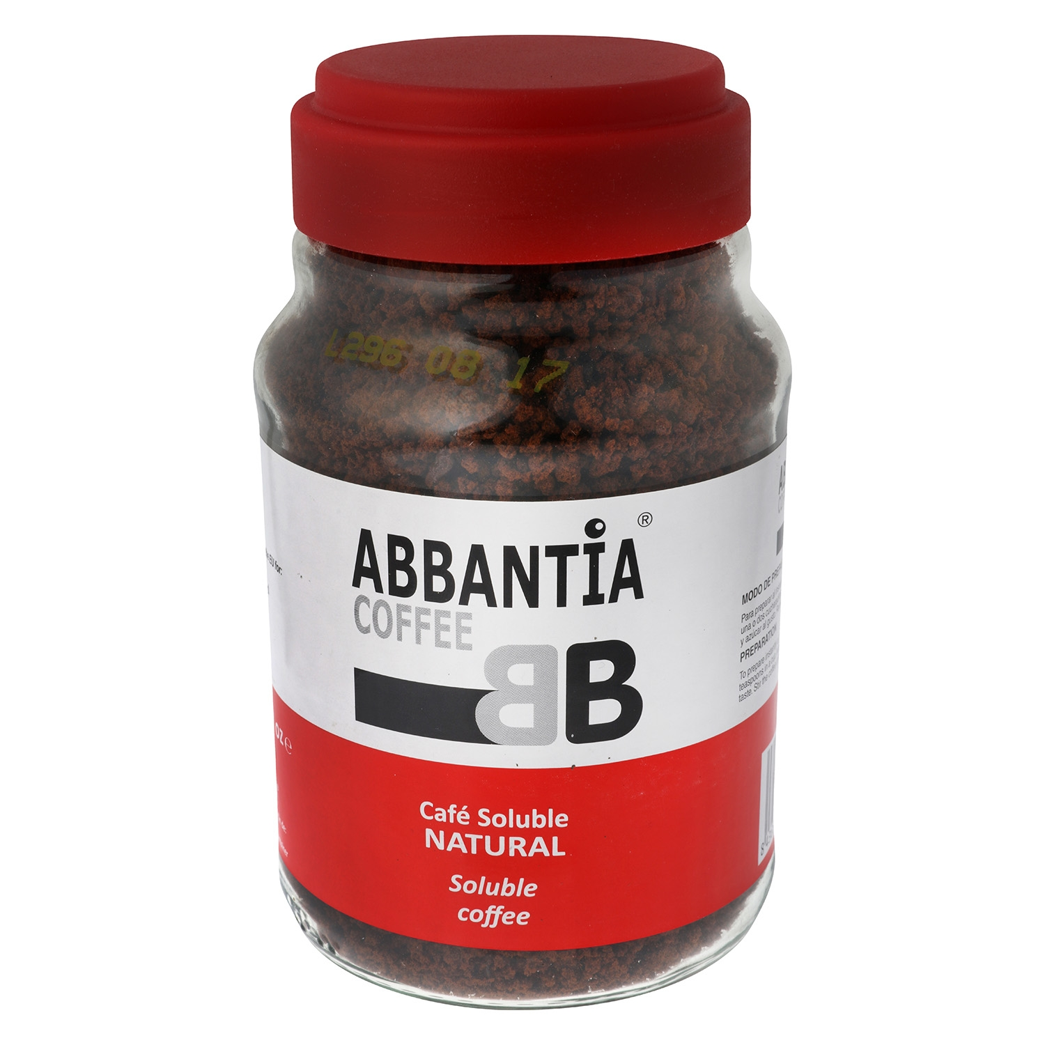 Café soluble natural Abbantia 200 g.