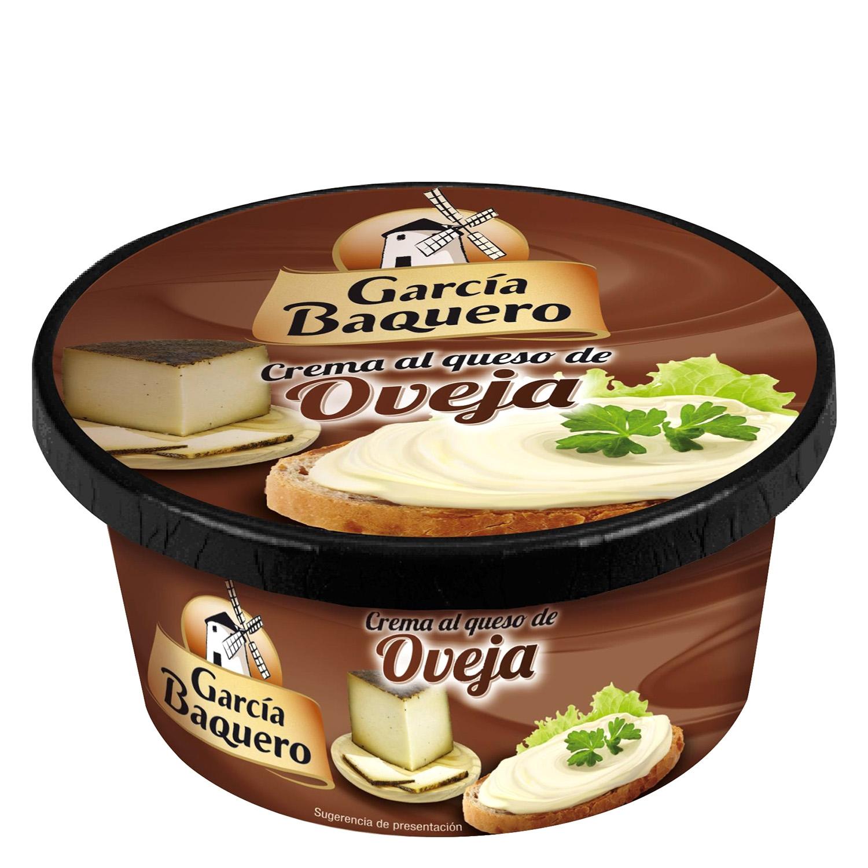 Crema de queso sabores ibéricos oveja García Baquero 125 g.