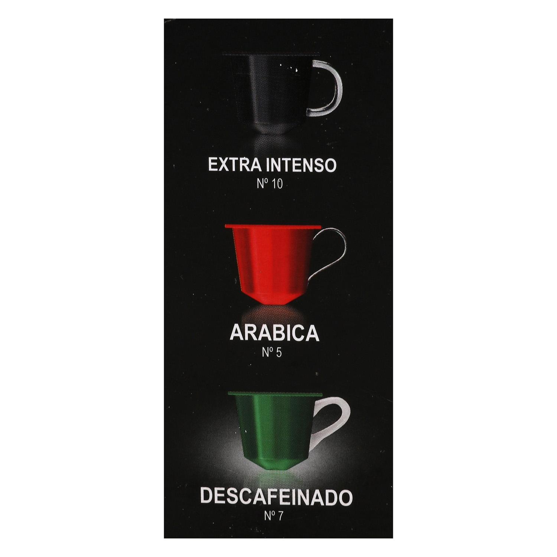Café descafeinado en cápsulas Abbantia compatible con Nespresso 10 unidades de 5 g. - 2