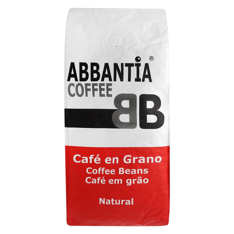 Café grano natural Abbantia 1 kg.