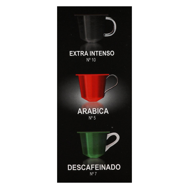 Café arábica en cápsulas Abbantia compatible con Nespresso 10 unidades de 5 g. - 2