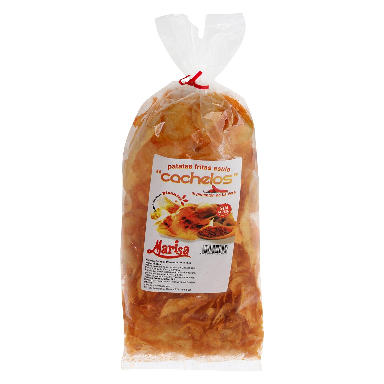 Patatas fritas sabor pimentón de la vera Marisa sin gluten 150 g.