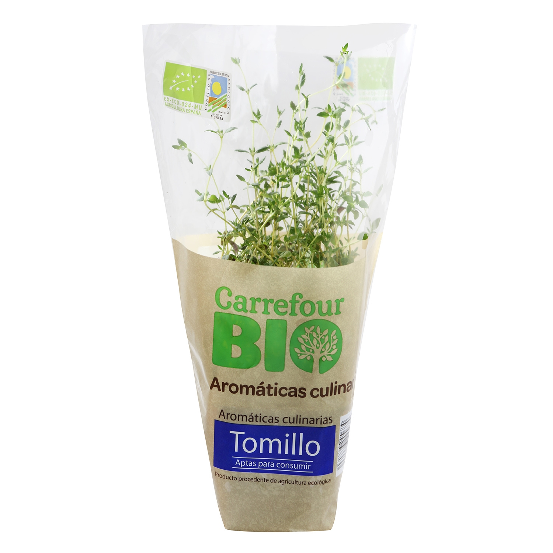 Tomillo ecológico Carrefour Bio granel maceta - 2