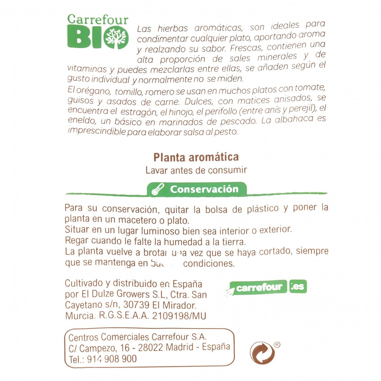 Tomillo ecológico Carrefour Bio granel maceta - 3