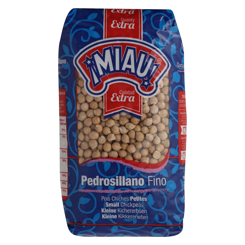 Garbanzo pedrosillano Miau categoría extra 1 kg.