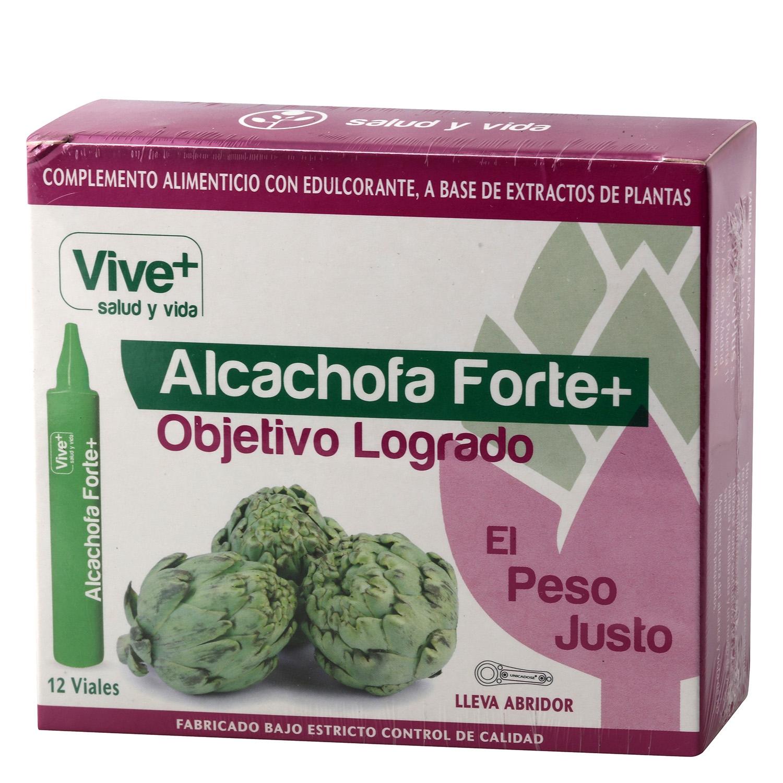 Complemento alimenticio Alcachofa Forte+ Vive Plus 12 viales