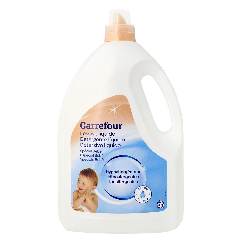 Detergente liquido especial ropa bebé