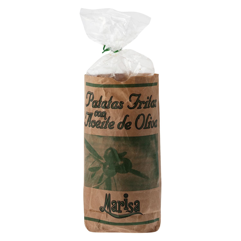 Patatas fritas en aceite de oliva Marisa 190 g.