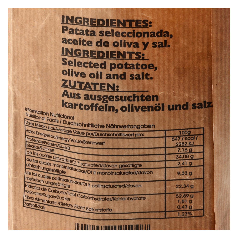 Patatas fritas en aceite de oliva Marisa 190 g. - 2