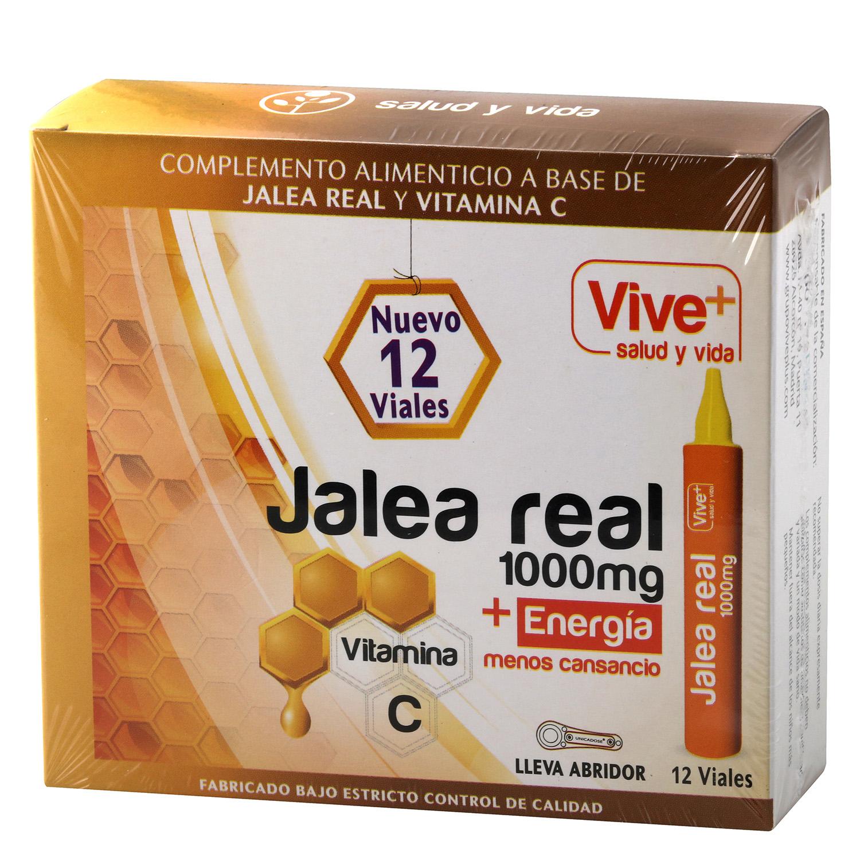 Complemento alimenticio Jalea real Vive Plus 12 viales
