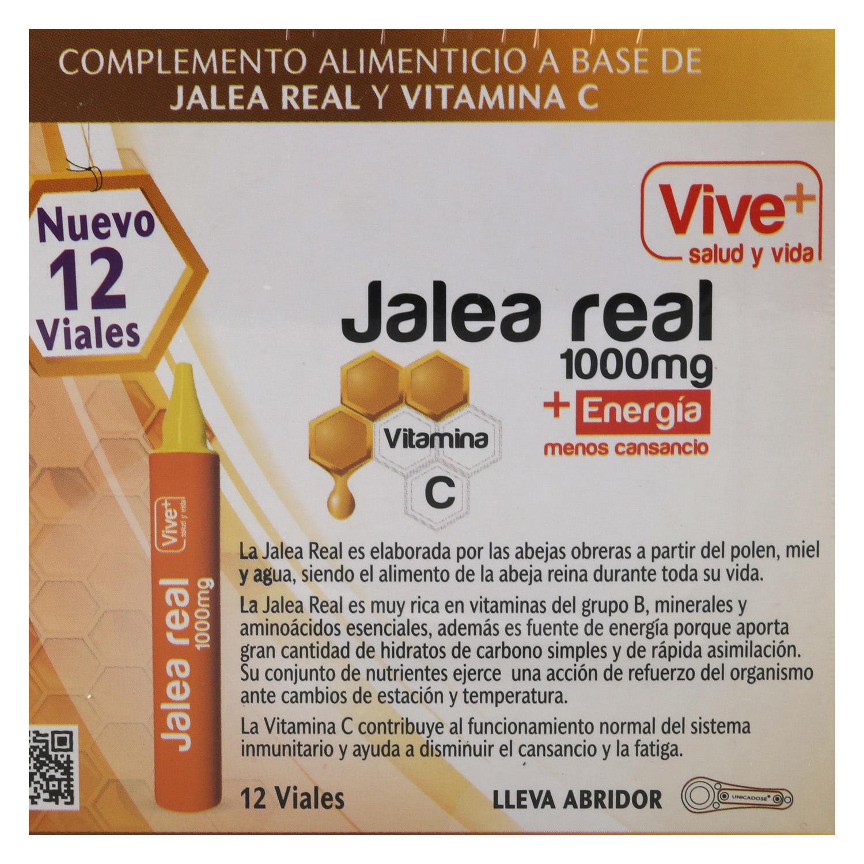 Complemento alimenticio Jalea real Vive Plus 12 viales -