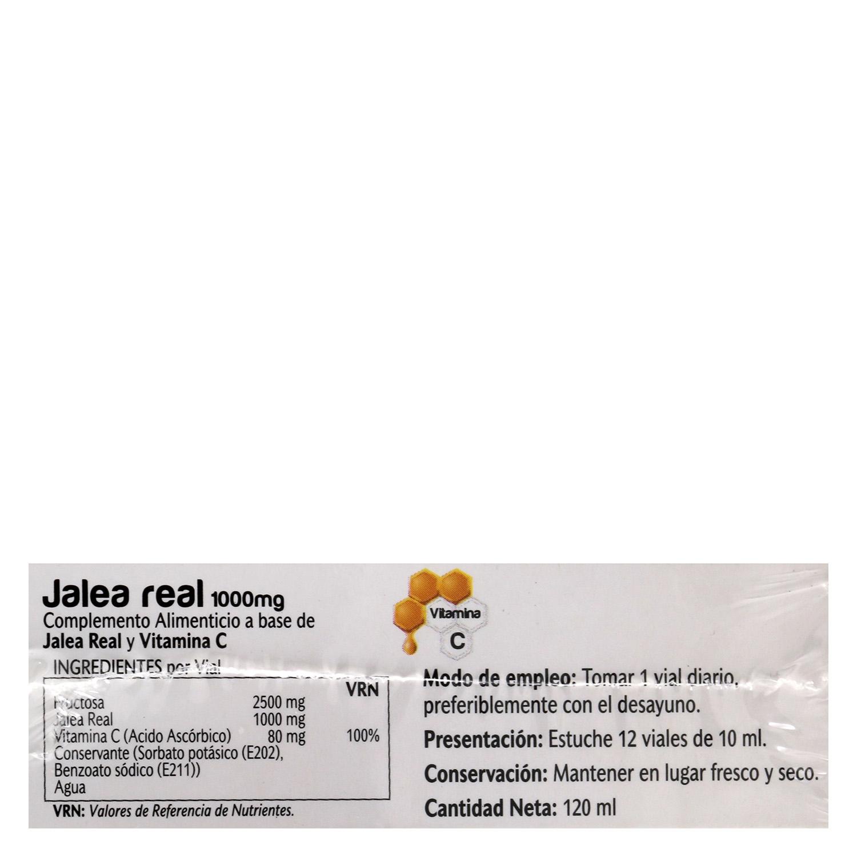 Complemento alimenticio Jalea real Vive Plus 12 viales - 3