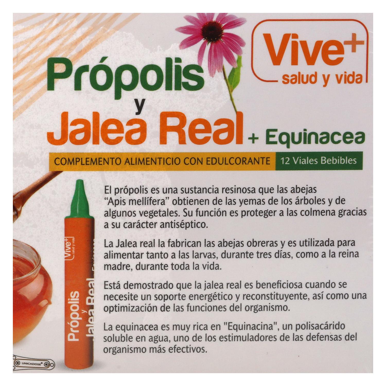 Complemento alimenticio Própolis+ Jalea + Equinacea -