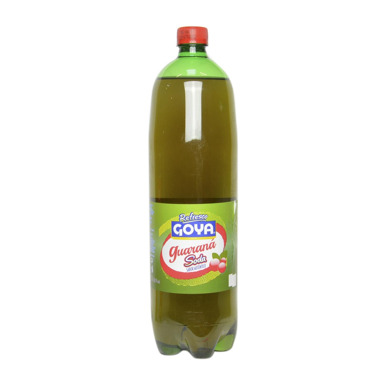 Refresco de guaraná Goya sin gas botella 1,5 l.