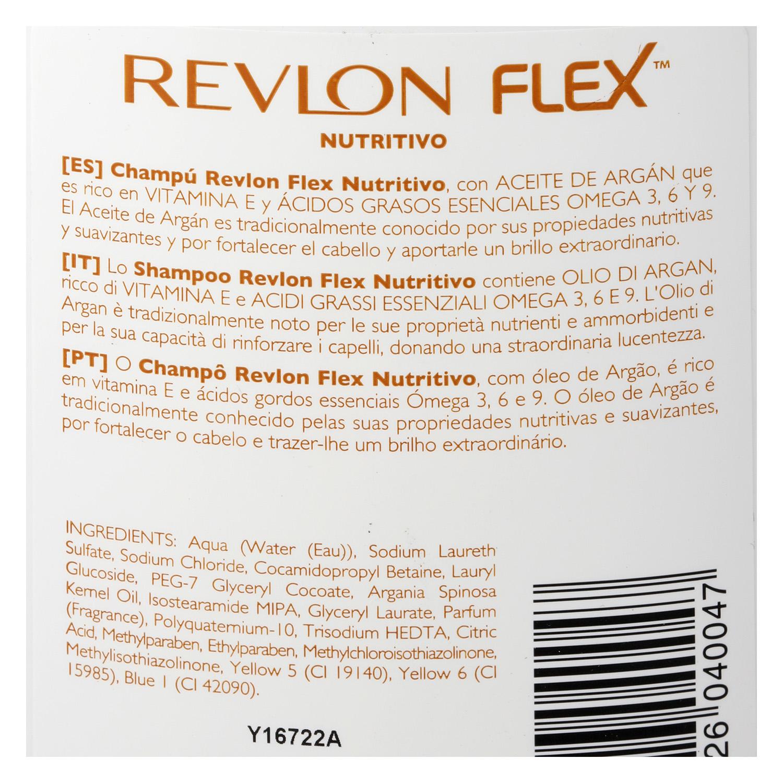 Champú nutritivo con aceite de argán para cabello seco -