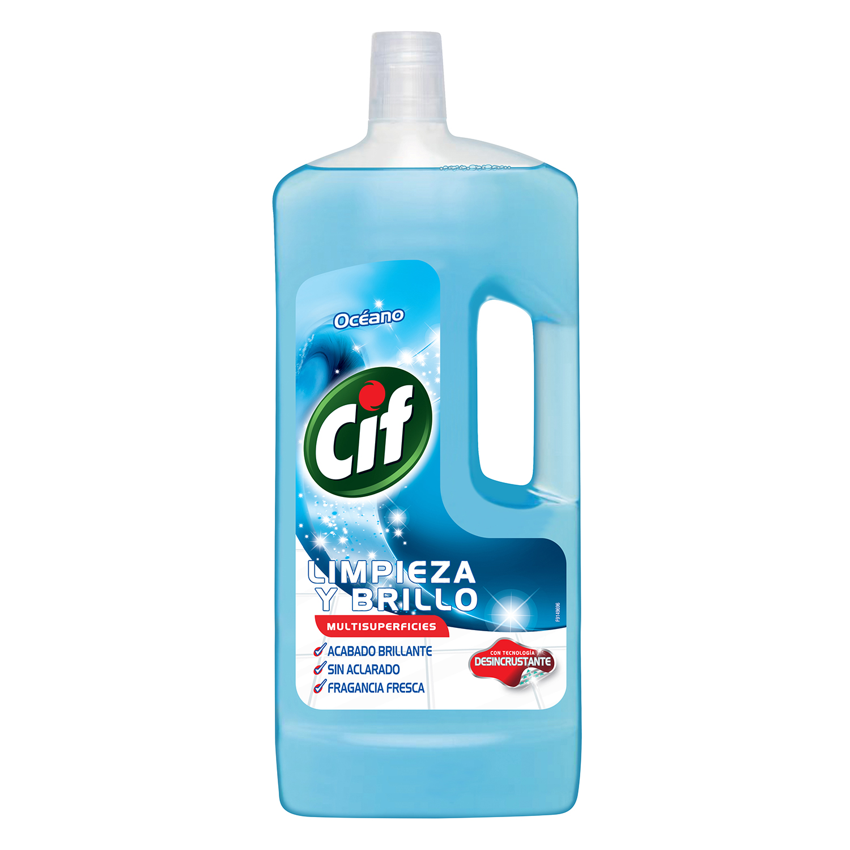 Limpiador multisuperficies aroma océano Cif 1,5 l.