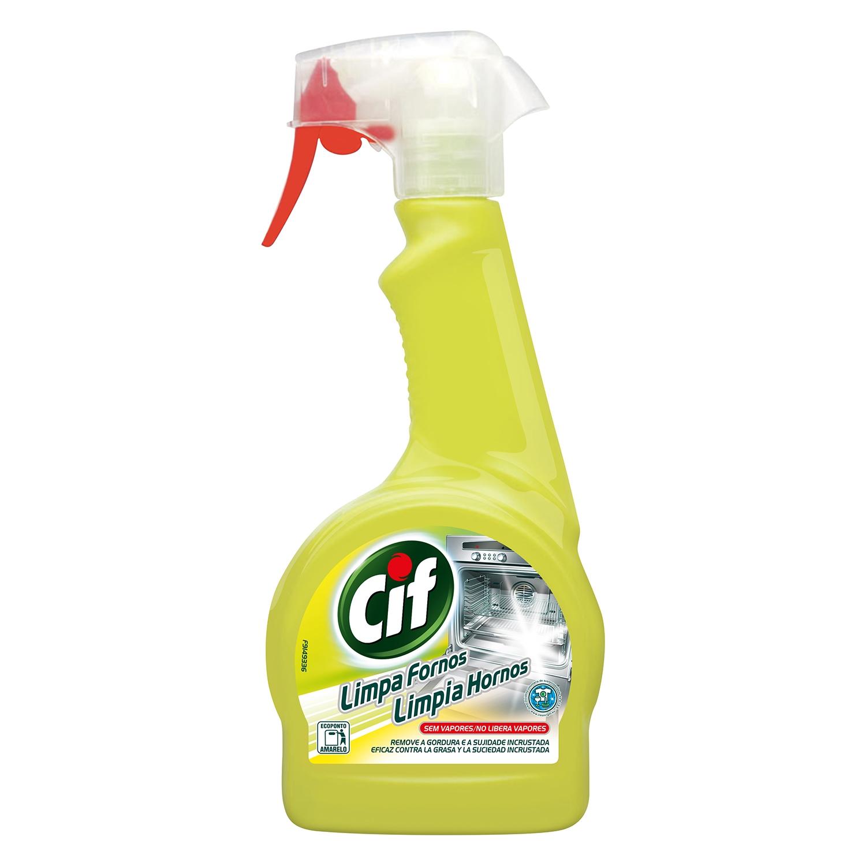 Limpiador de hornos cif carrefour supermercado compra online for Hornos piroliticos carrefour