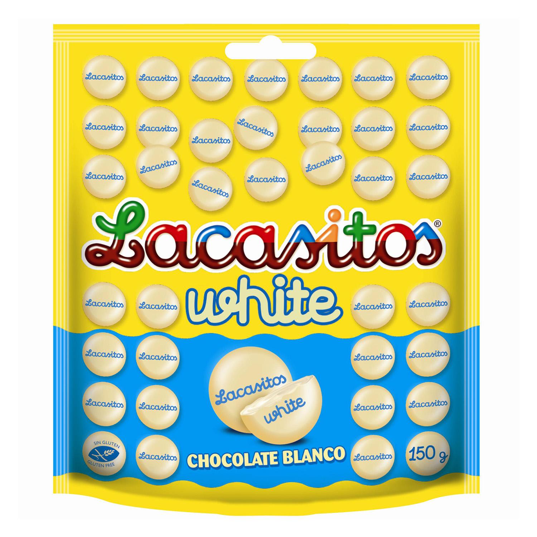 Chocolate blanco Lacasitos Lacasa 150 g.