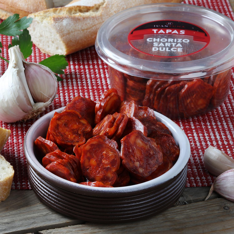 Chorizo sarta dulce snack -