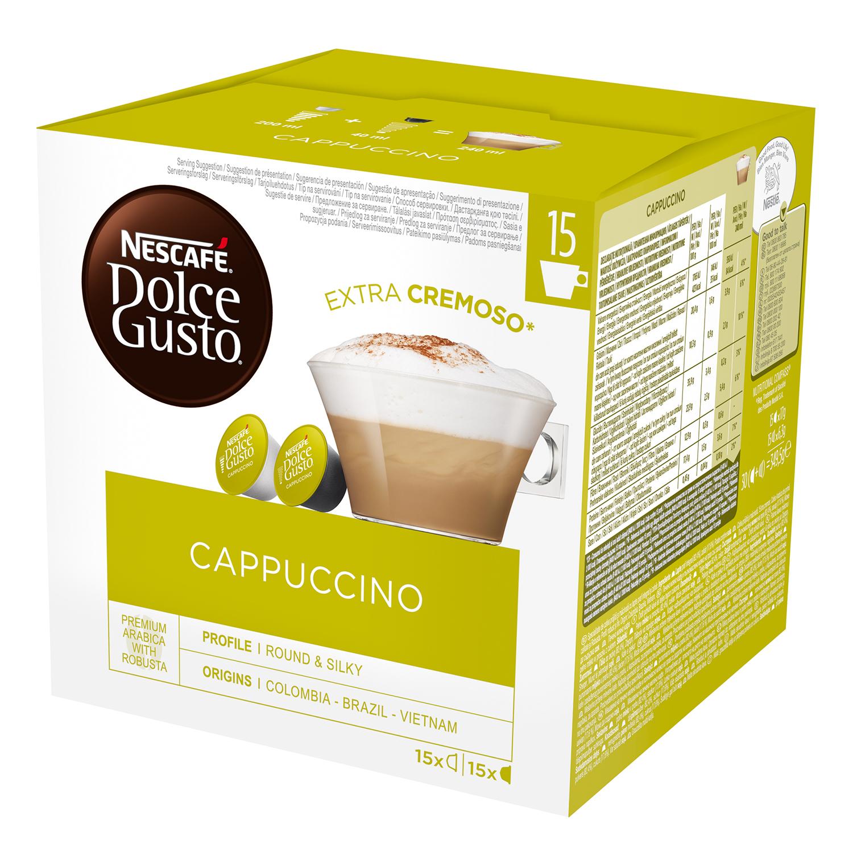 Café cappuccino en cápsulas