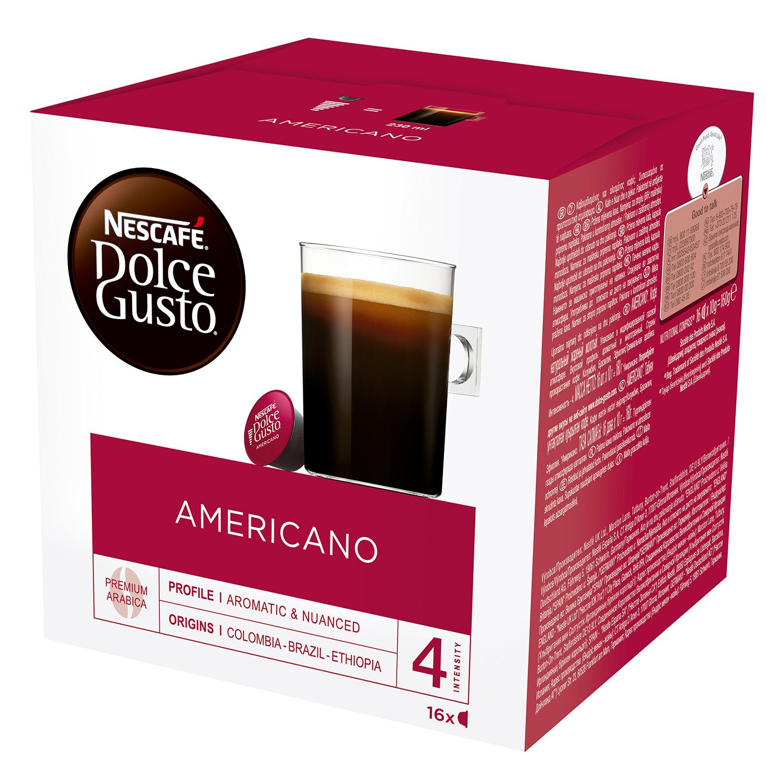 Café americano en cápsulas