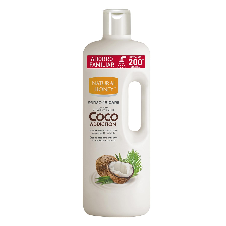 Gel de ducha con aceite de coco Natural Honey 1500 ml.
