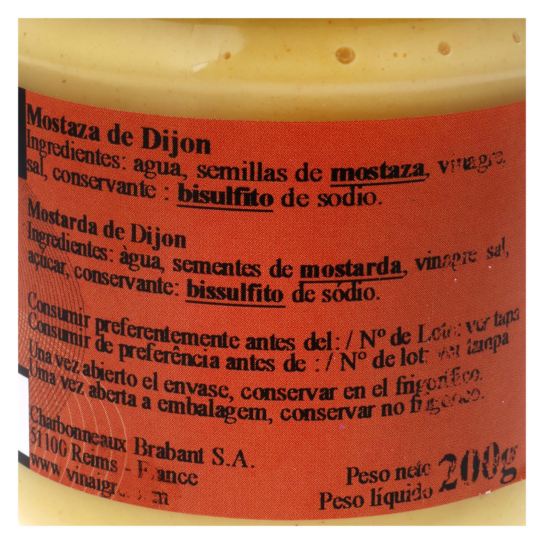 Mostaza de Dijón - 2