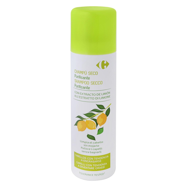Champú seco limpia el cabello sin mojarse