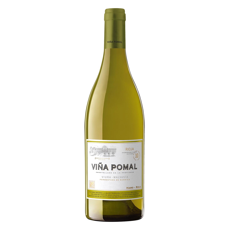 Vino D.O. Rioja blanco fermentado en barrica Viña Pomal 75 cl.