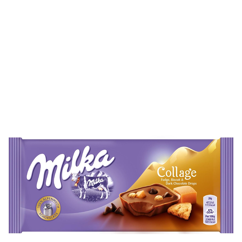 Chocolate collage caramelo Milka - Carrefour supermercado compra ...