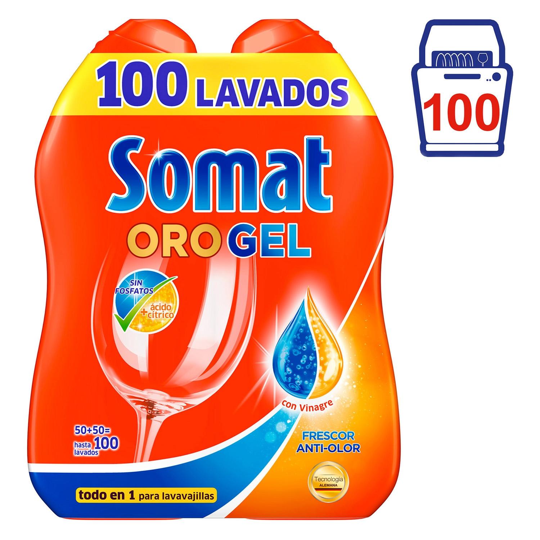 Gel lavavajillas con vinagre
