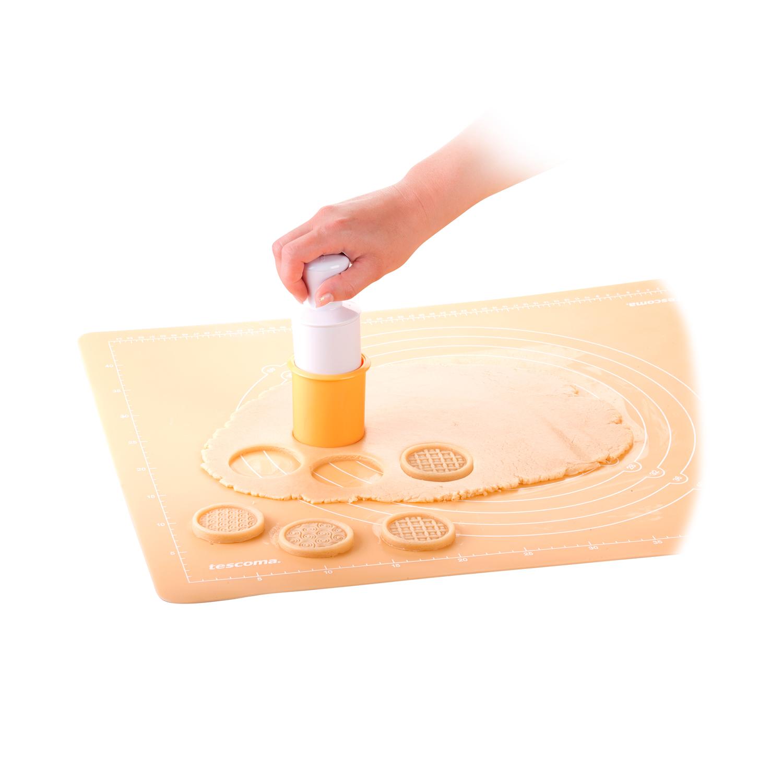 Corta Pasta  TESCOMA Delicia  12,5cm - Amarillo - 2