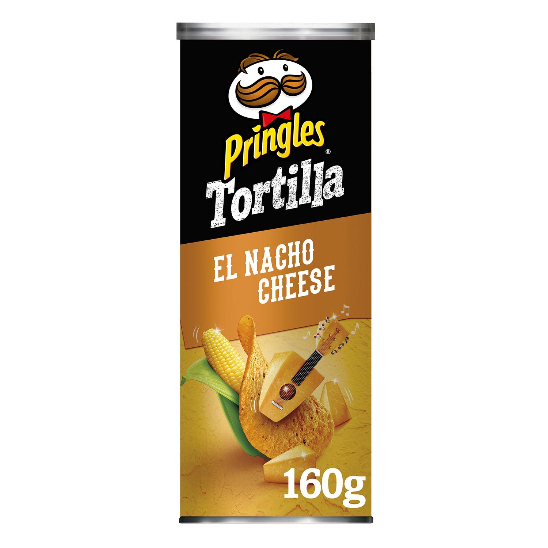 Nachos sabor queso Pringles 160 g.