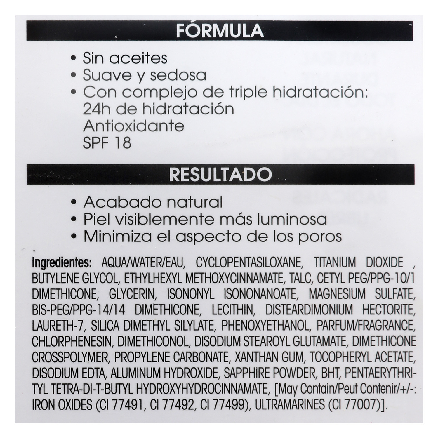 Maquillaje Skin Match protect foundation nº 103 porcelain -