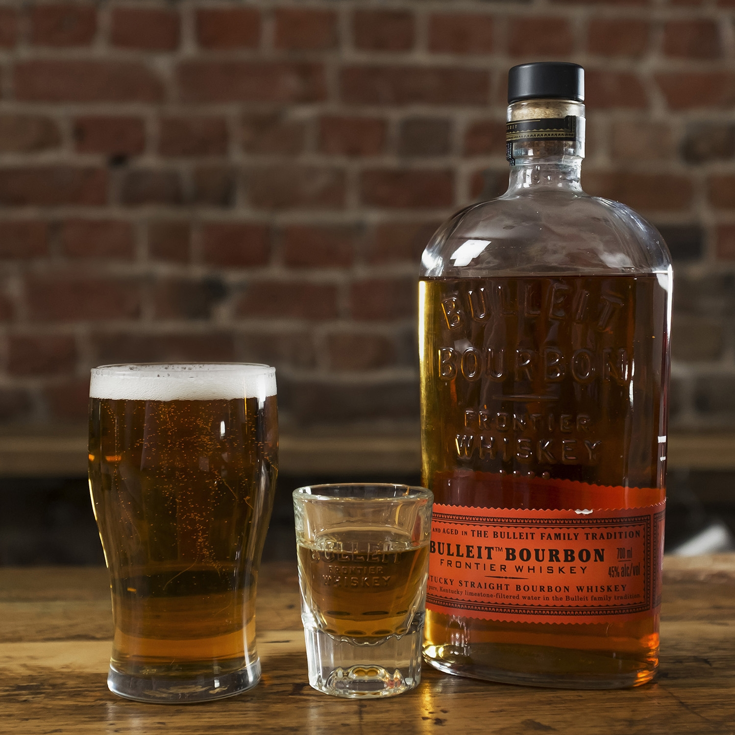 Whisky Bulleit bourbon 70 cl. -