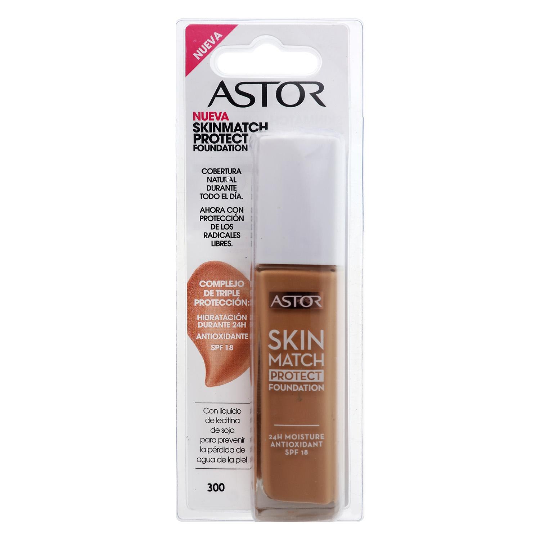 Maquillaje Skin Match protect foundation nº 300 beige