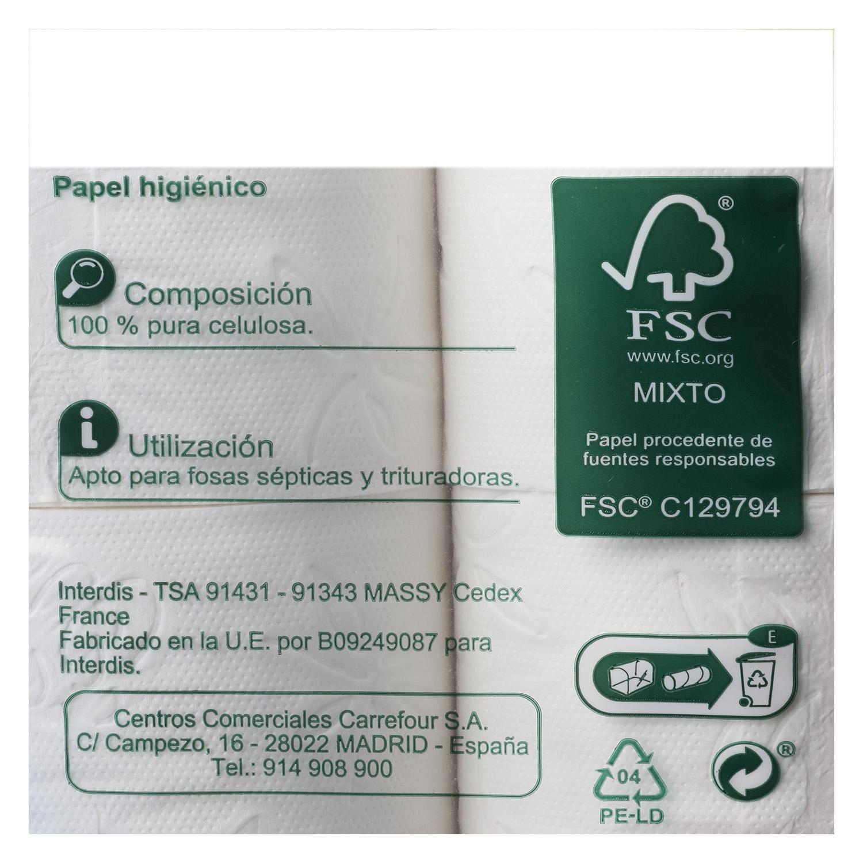 Papel higiénico confort suave - 2