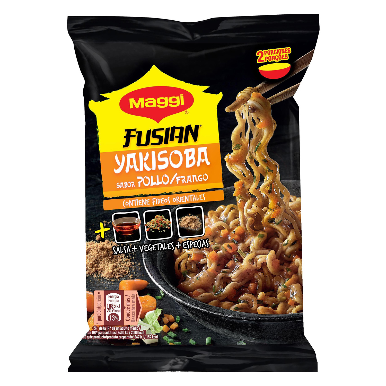 Yakisoba sabor pollo Fusian