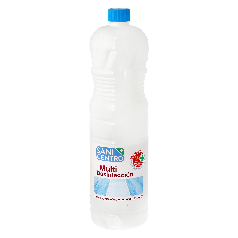Fregasuelos multi-desinfección Sanicentro 1,5 l.