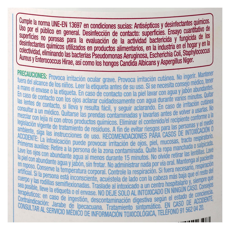 Fregasuelos multi-desinfección Sanicentro 1,5 l. -