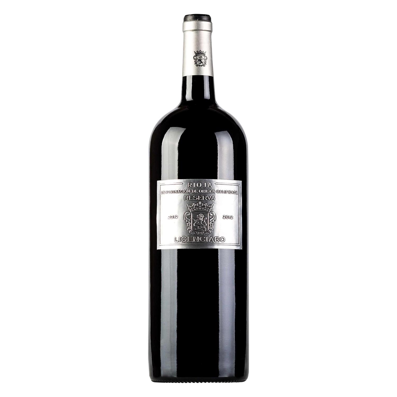 Vino D.O. Rioja tinto reserva Licenciado 1,5 l.