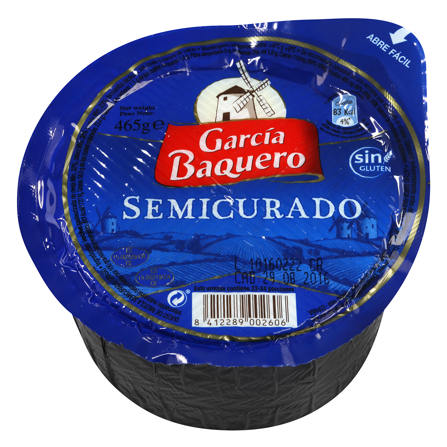 Mini queso semicurado -