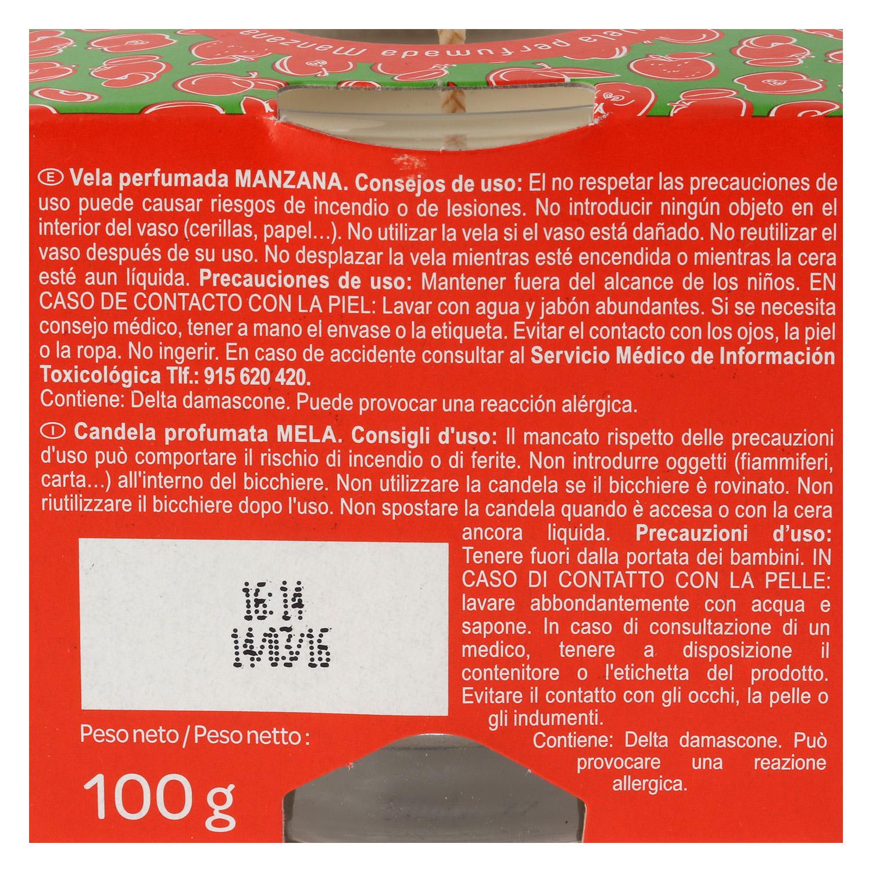 Vela perfumada manzana - 2
