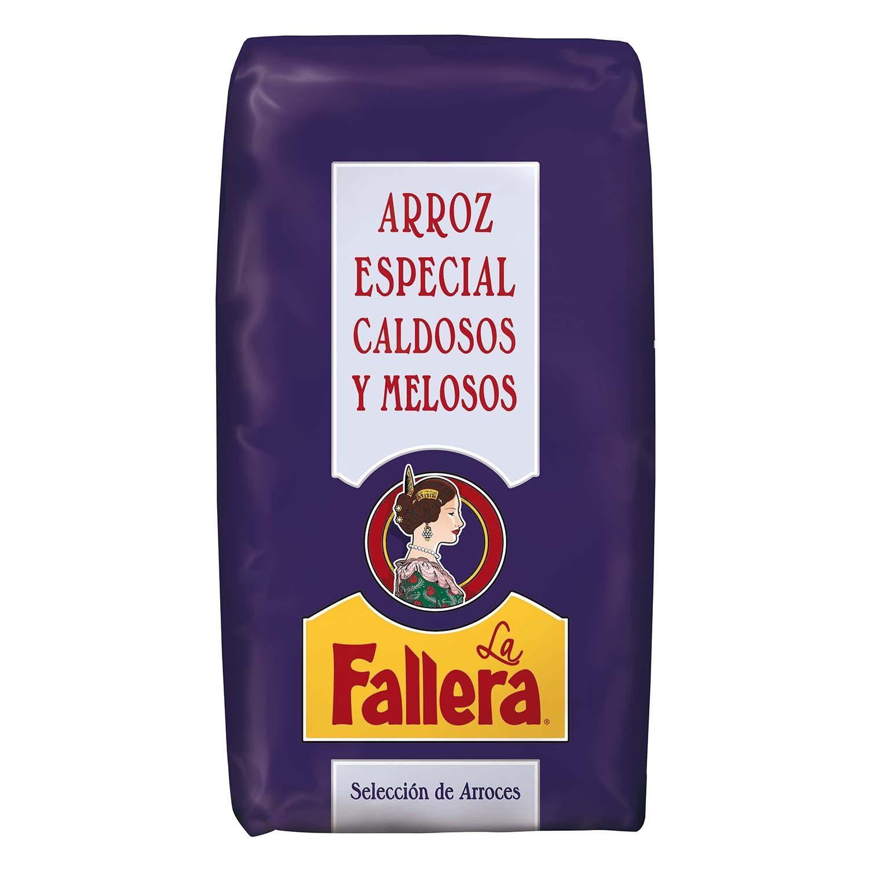 Arroz La Fallera para caldosos 1 kg.