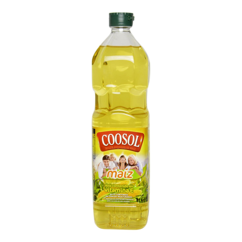 Aceite de maíz Coosol 1 l.