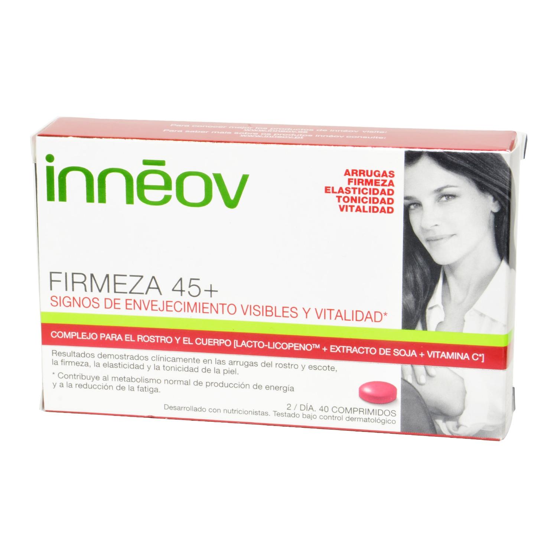 Comprimidos Firmeza 45+ Inneov 40 comprimidos.