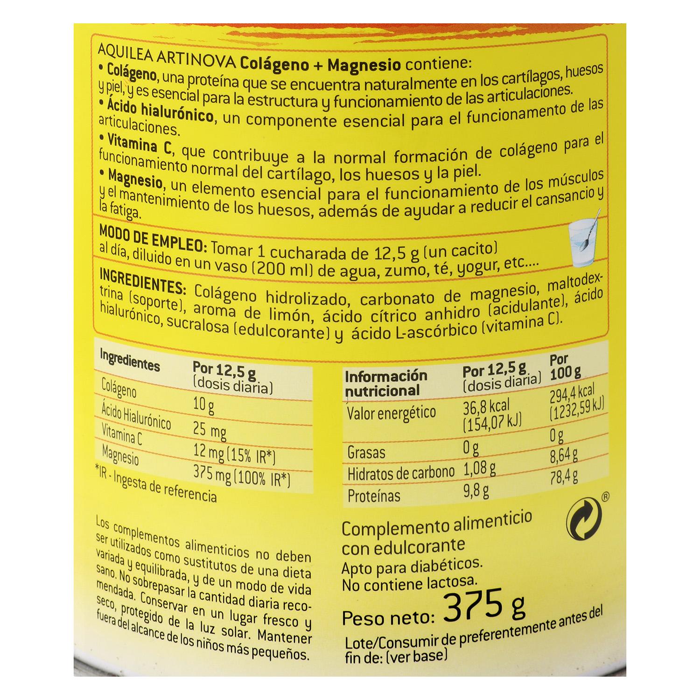 Complemento colágeno + magnesio Artinova -