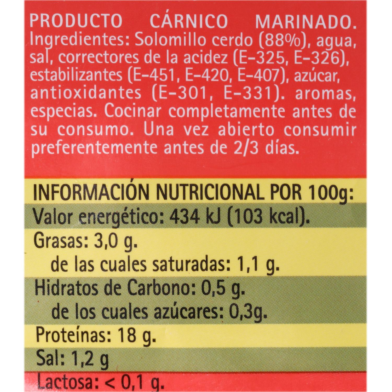 Solomillo de Cerdo Extratierno El Pozo 600 g aprox - 3
